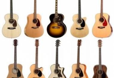 10 chiếc Guitar Acoustic tốt nhất