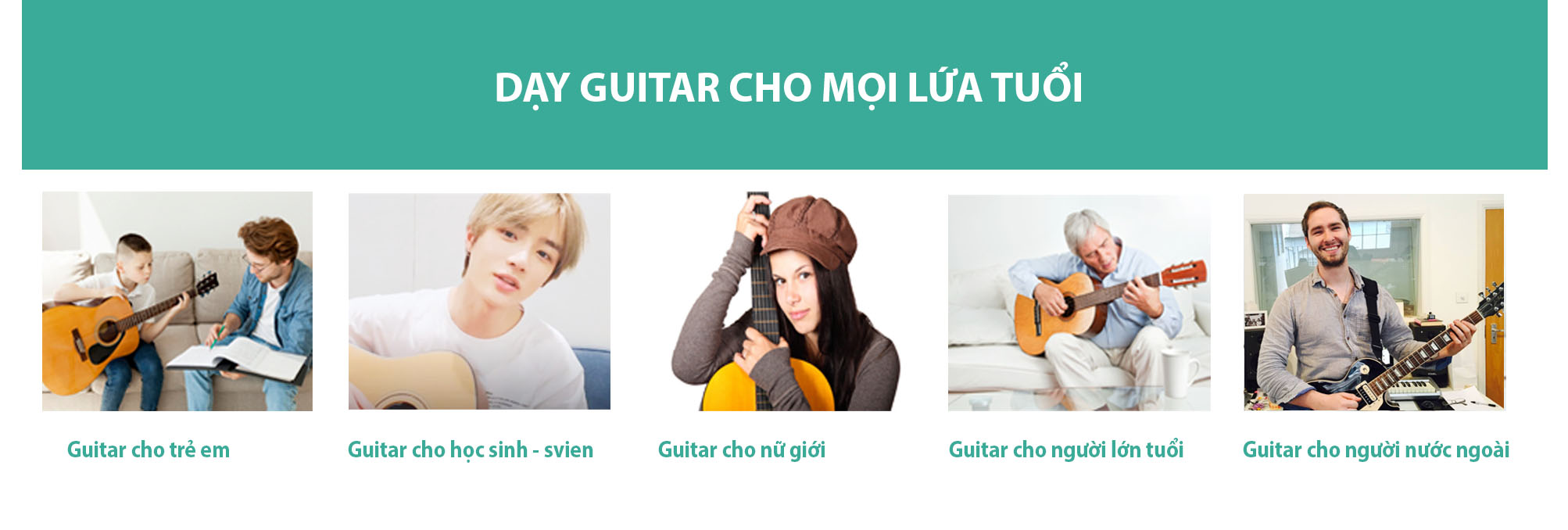 hoc kem guitar